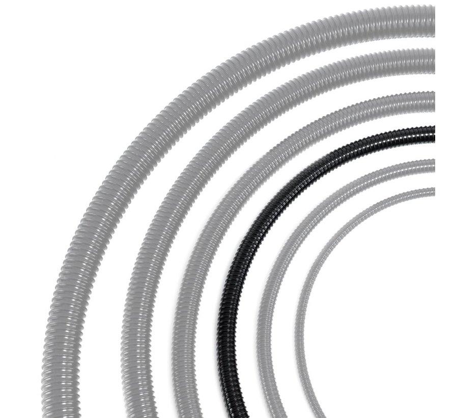 Vijverslang zwart 25 mm x 30 meter