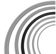 Auga Vijverslang zwart 32 mm x 25 meter