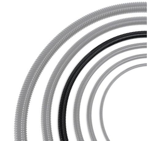 Meuwissen Agro Vijverslang zwart 32 mm x 30 meter