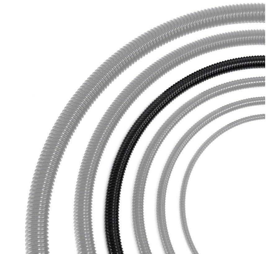 Vijverslang zwart 32 mm x 30 meter