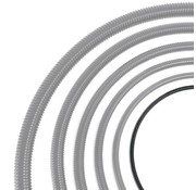 Auga Vijverslang - 13 mm x 30 meter - Zwart