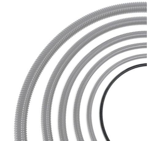 Auga Vijverslang - 12 mm x 30 meter - Zwart