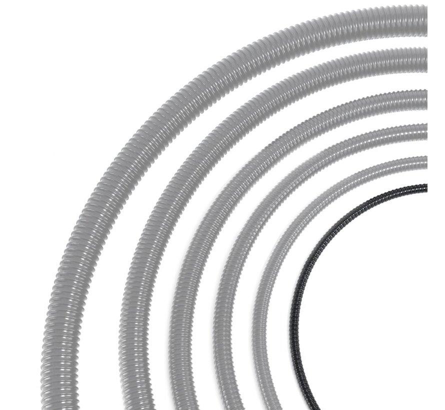 Vijverslang - 13 mm x 30 meter - Zwart