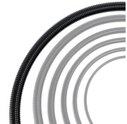 Auga Vijverslang zwart 50 mm x 30 meter