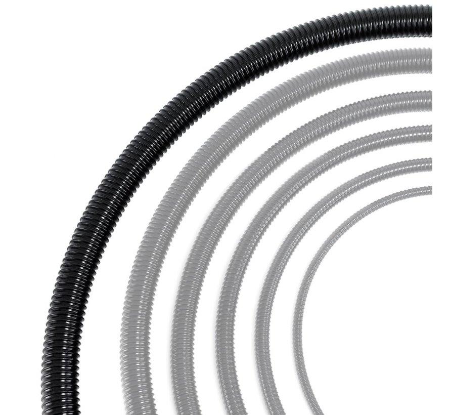 Vijverslang zwart 50 mm x 30 meter