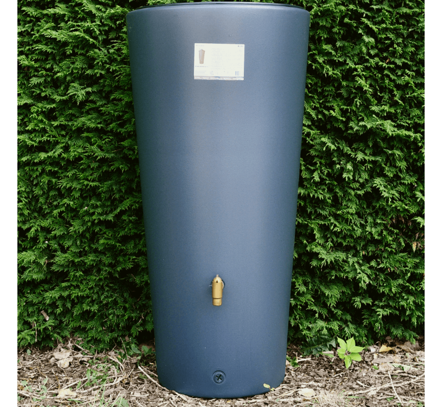 Regenton Vaso 220 liter - 2 in 1 + Plantenbak