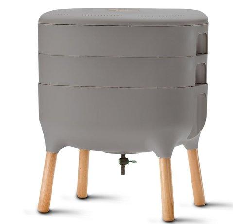 Plastia Worm Composter - Antraciet