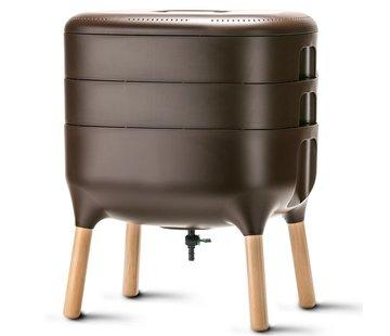 Plastia Worm Composter - Bruin