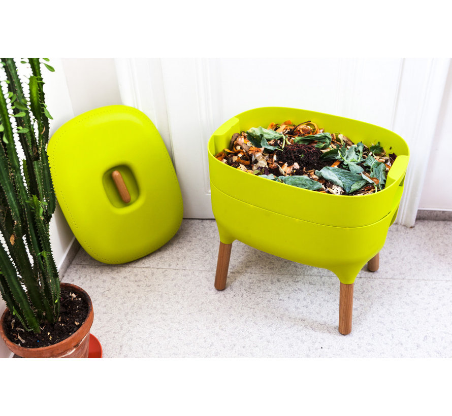 Wormenbak - Worm Composter - Lime