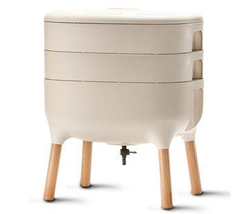 Plastia Worm Composter - Ivoor