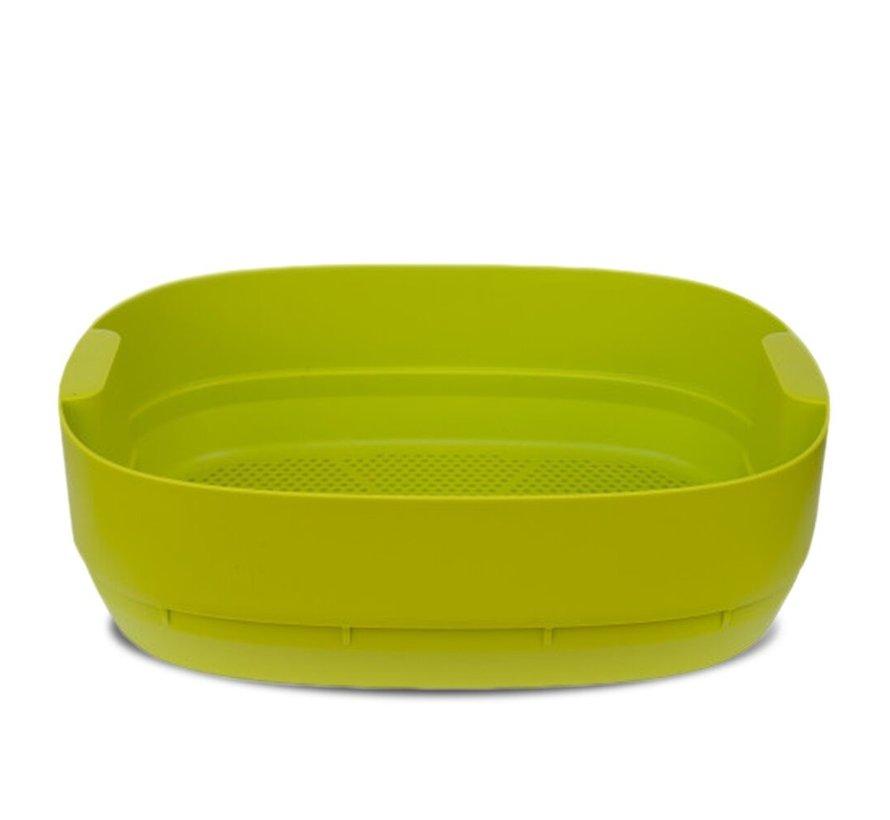 Worm Composter - Uitbreidingsbak - Lime