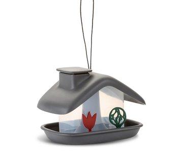 Plastia Vogelvoederhuis - Domek - Antraciet