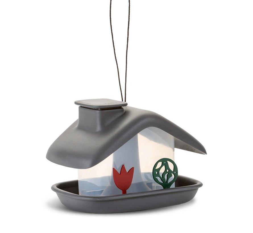 Vogelvoederhuis - Domek - Antraciet