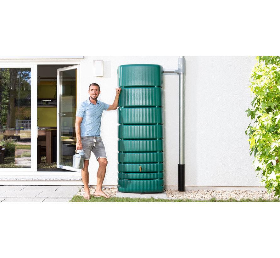 Regenton Slim Groen 650 liter