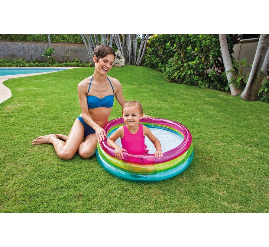 Babyzwembad - Regenboog