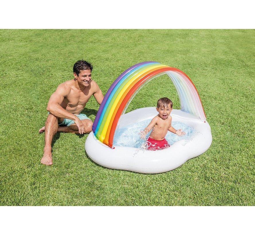 Babyzwembad - Regenboog dak