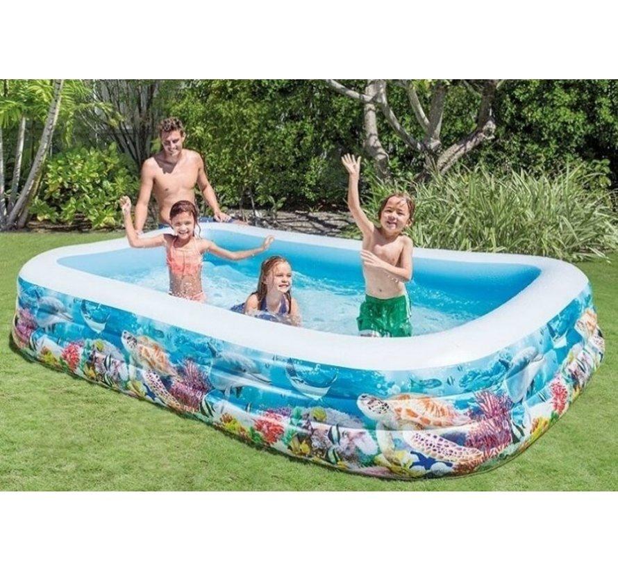 Kinderzwembad - Opblaasbaar - Zeeleven