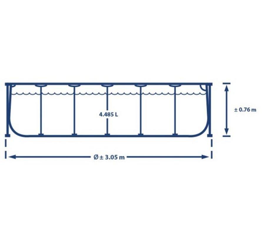 Intex Metal Frame - Zwembad - 305 x 76 cm