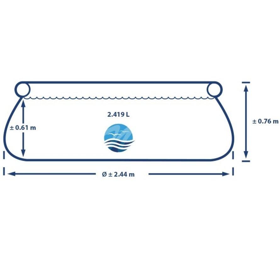 Intex Easy Set - Zwembad - 244 x 76 cm + Pomp