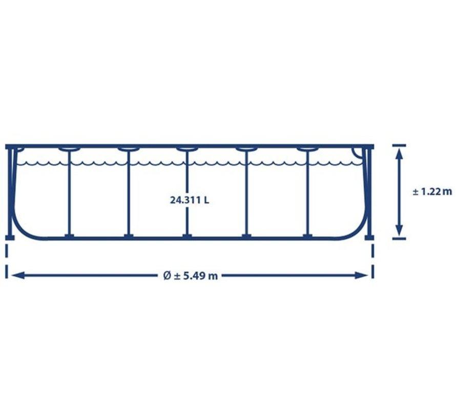 Intex Zwembad - Prism Frame - 549  x 122 cm