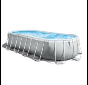 Intex Intex Zwembad - Prism Oval - 610 x 305 x 122 cm