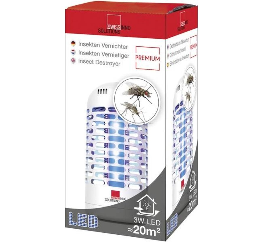 Insectendoder - 3 Watt - 20 m2