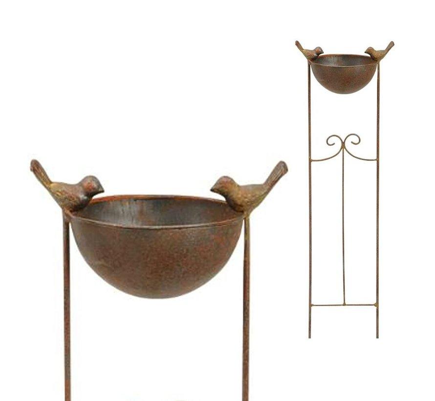 Vogelbad - Tuinsteker - 76 cm