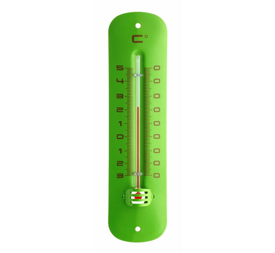 Frisse kleuren buitenthermometer - Metaal
