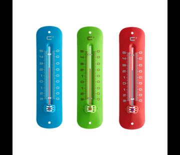 TFA Frisse kleuren buitenthermometer - Metaal