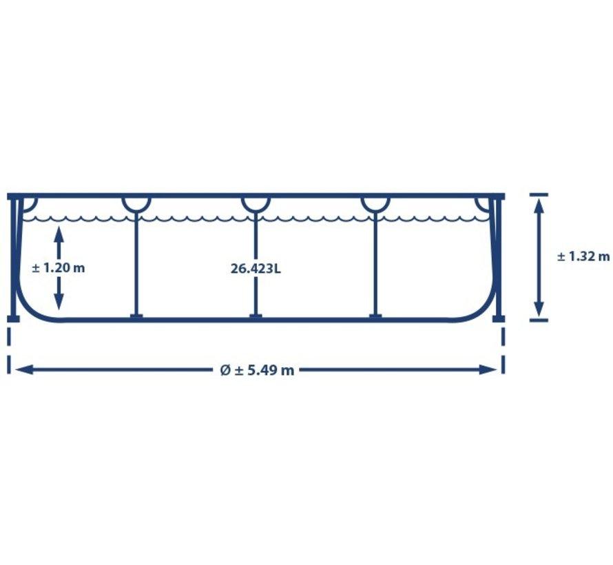 Intex Ultra XTR Frame zwembad - 549 x 132 cm
