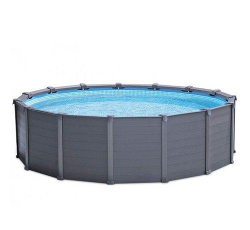 Intex Intex zwembad Graphite Panel - 478 x 124 cm