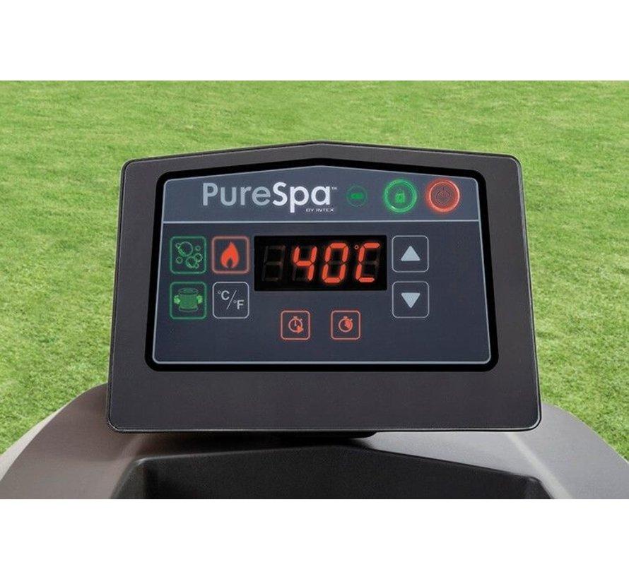 Intex PureSpa - Opblaasbare Greywood Spa - 6 personen