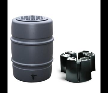 Harcostar Regentonset Harcostar - 168 Liter Antraciet + Voet