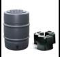 Regentonset Harcostar - 168 Liter Antraciet + Voet
