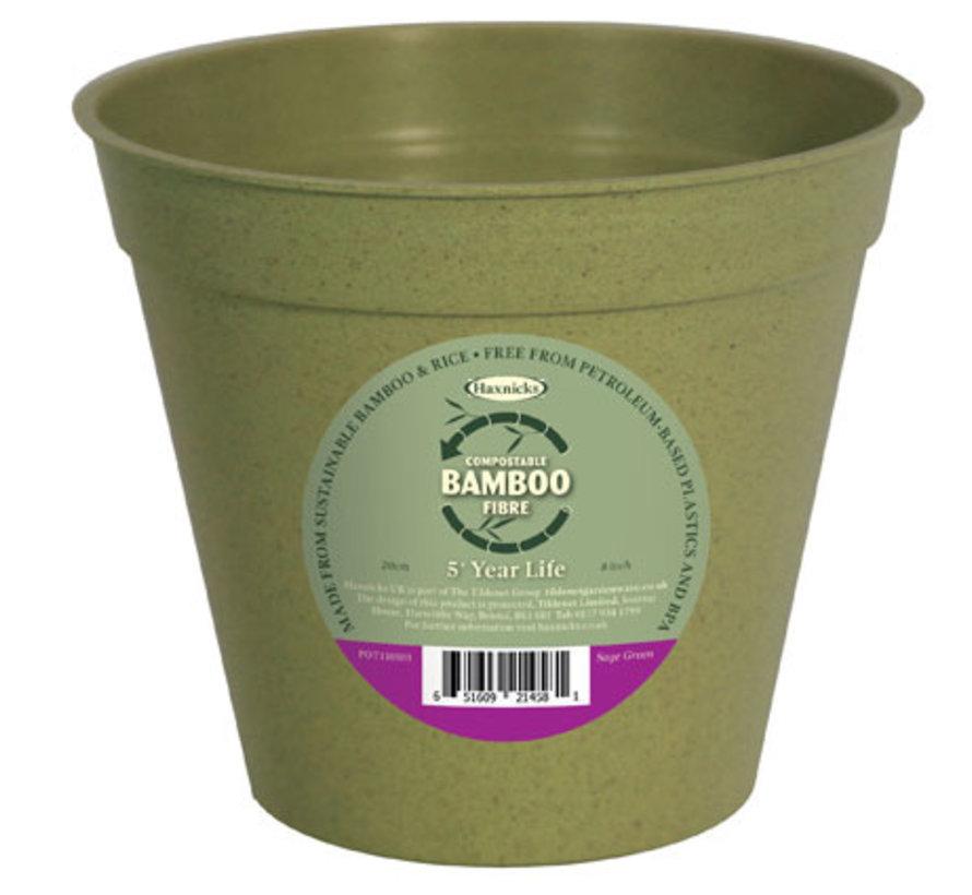 Bamboe bloempot - XXL - 20 cm