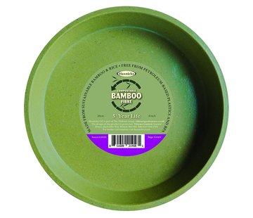 Haxnicks Bloempot Bamboe schotel - XXL - 20 cm