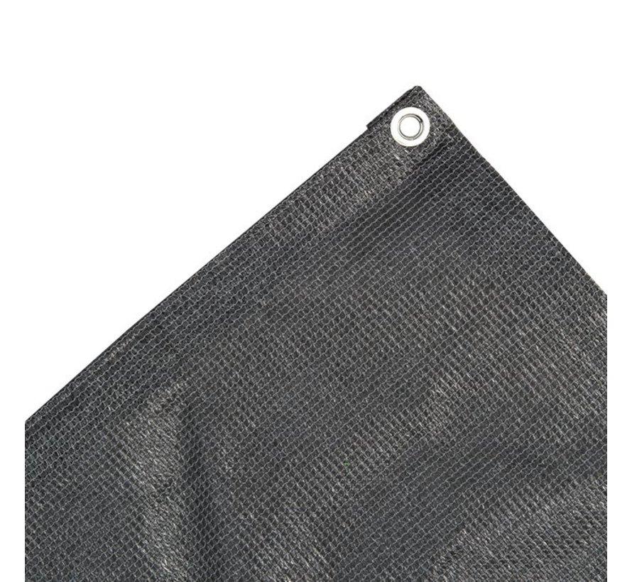 Balkondoek 0,8 x 5 meter - Antraciet