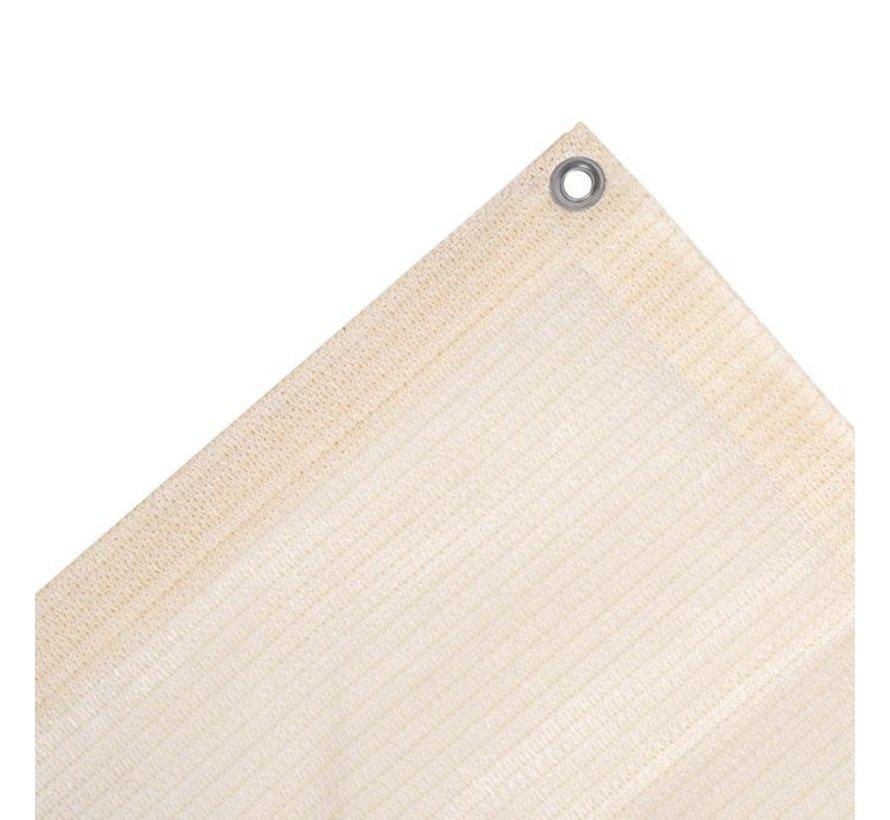 Balkondoek 0,8 x 5 meter - Gebroken wit