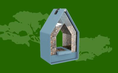 Vogelvoederhuisjes - Sinterklaas
