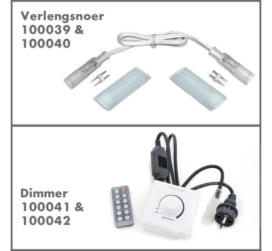 Accessoires voor 230V LED Lichtslang