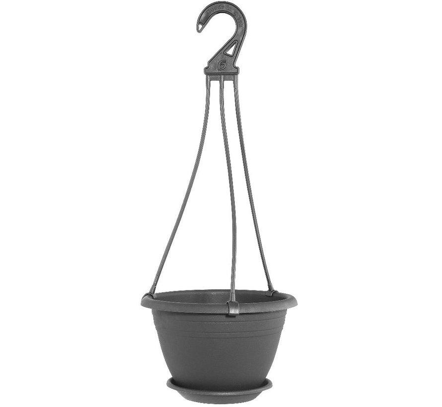 Hangpot Galicia - Antraciet 20 - 30 cm