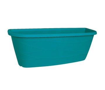Geli Bloembak Maya - 50 cm - Turquoise