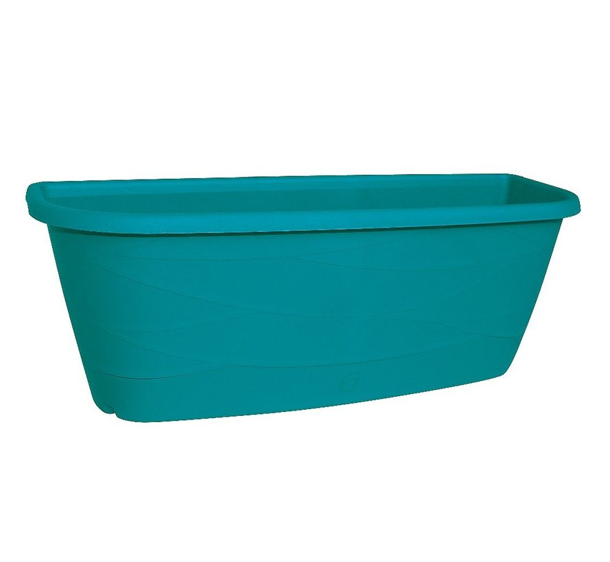 Bloembak Maya - 50 cm - Turquoise