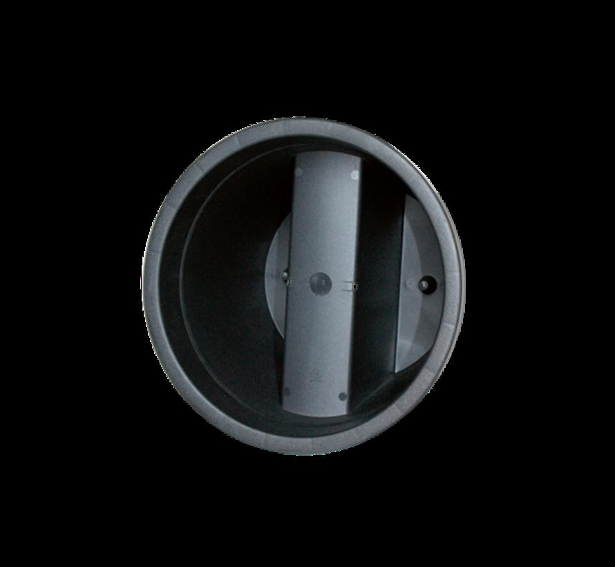 Balkonpot E&K - Antraciet - 28 cm