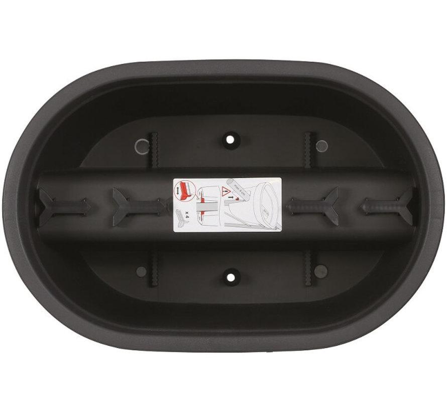 Balkonbak E&K - 40 tot 60 cm - Antraciet