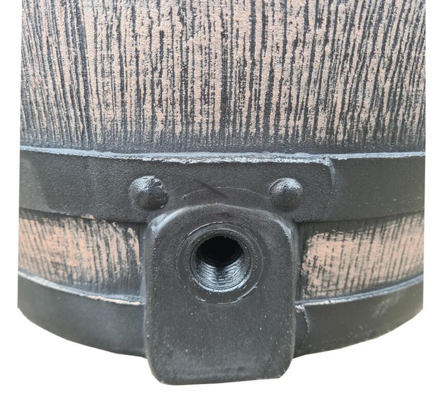 Regenton Roto - 80 liter - Bruin