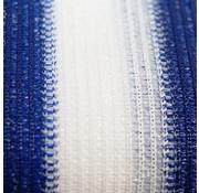 Meuwissen Agro Balkondoek Blauw / wit - Per meter
