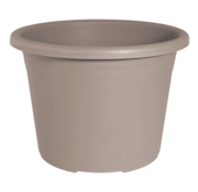 Geli Bloempot CYLINDRO ø 16 cm - Taupe