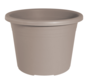 Bloempot CYLINDRO ø 16 cm - Taupe