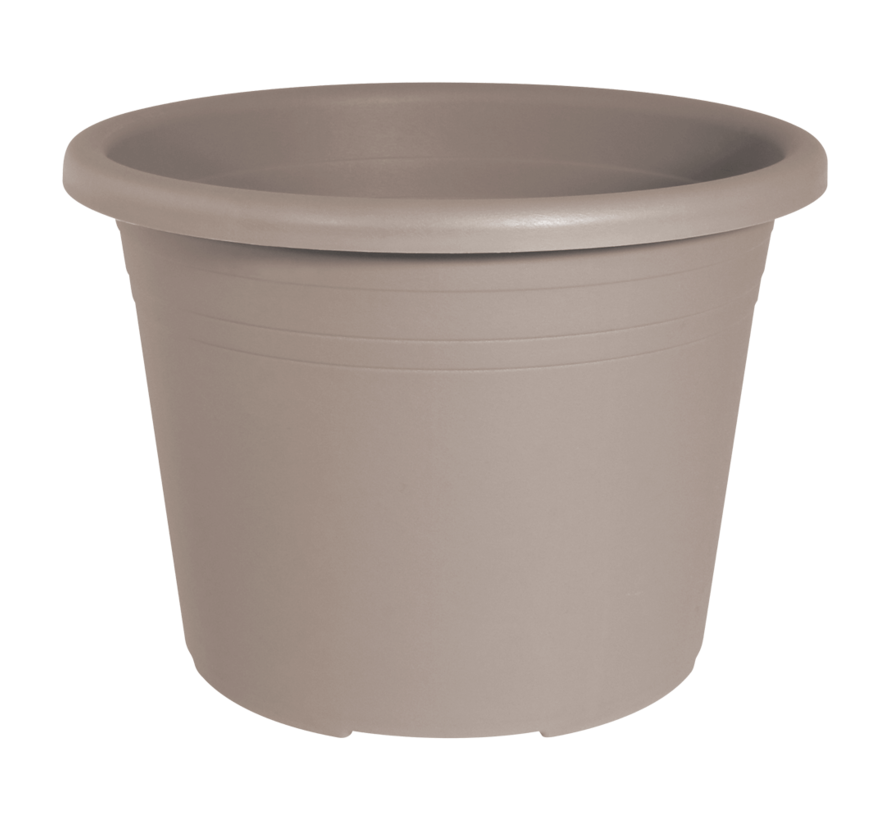 Bloempot CYLINDRO ø 25 cm - Taupe